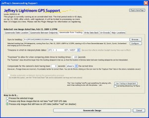 GPS Support Plugin