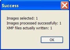 Success Message