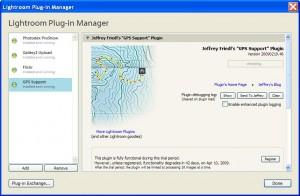 GPS Support Plugin
